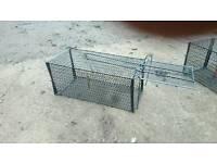 Humane rat catcher cage trap new