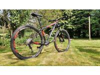 Scott Scale carbon 29er mountain bike