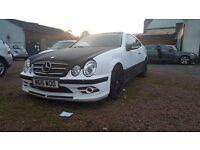 Mercedes clk420 v8 mot run out spares or repair(like track car modified)