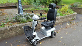 NEW BATTERIES Quingo Vitess 8mph Mobility Scooter Only 26 Hours Use From New!