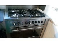 ariston cook 5 burners large oven very clean