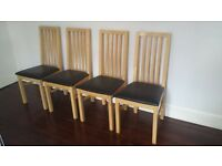 **4 chairs... Bargain price! ** must go quick