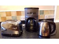 Kettle, Toaster and Filter Coffee maker