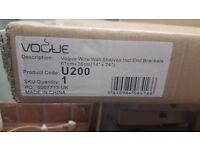 Vogue Stainless Steel Shelf, in box and unused.