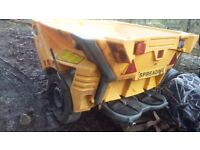 Glasdon gritter turbo cast cruiser 1000 towed
