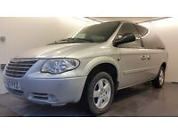 2007 │Chrysler Grand Voyager 2.8 CRD │ Sat Nav │ Leather │ Automatic│ Electric Doors │