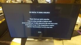 """FINLUX 42"""" SMART 3D LED TV 42FLHK240BHD HUGE DISCOUNT AS SMALL LINE ON LEFT SIDE OF SCREEN"""