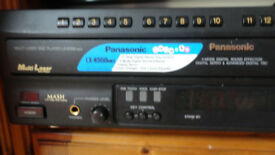 Panasonic LX-K550 MKII Multi Disc Laser Player Karaoke Video Machine