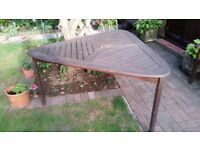 Wooden Large Garden Table