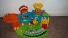 Vtech Toot Toot Garage, Cars, Police Station and Extra Road