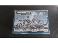 Warhammer 40000 Space wolves pack bnib and space marine scouts on sprue