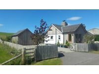 Beautiful Rural Three Bedroom House For Rent Near Nairn