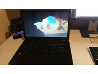 Acer ES1-711 17.3 inch HD laptop, 500GB HDD 4GB RAM - Windows 10 - hardly used - looks like new