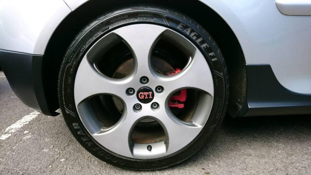 Original 18 inch VW Audi Monza alloy wheels