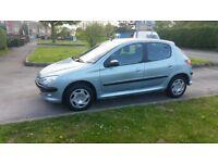 2003 Peugeot 207 1.4cc 21K Low Mileage MOT HPI Clear Power Windows P/M Excellent Drive P/X WELCOME
