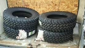 4 x dakar off road Tyres BRAND NEW