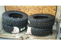 4 x dakar off road Tyres BRAND NEW