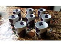 8 mugs