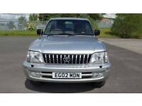 TOYOTA LANDCRUISER COLORADO VX A 3.0 D4D LEATHER- SUNROOF AUTO 8 SEATER