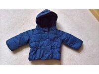 GAP Navy blue jacket - age 18-24 months