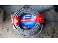 Worth £59 retail Twin & Earth Cable - 10mm2 x 16.5m