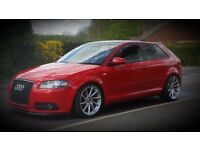 Audi A3 FSI. MODIFIED.