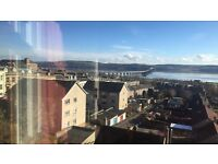 Double room for let in spacious flat on Perth Road, Dundee