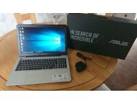 Laptop Asus i7 Boxed like new unmarked condition