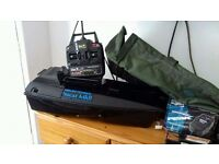 Procat bait boat perfect condition upgrade to mk 3 new hand set new charger x3 new batteries
