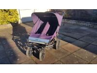 Double Mountain Buggy Urban with Carrycots and accessories