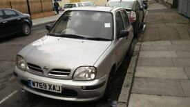 Reliable and affordable Nissan Micra. Economical to run around town.