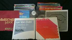 Collection of 90s house records