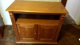 Pine cupboard /TV cabinet