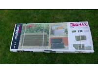 Brand new in box Toomax Garden cushion, toy, tool storage box