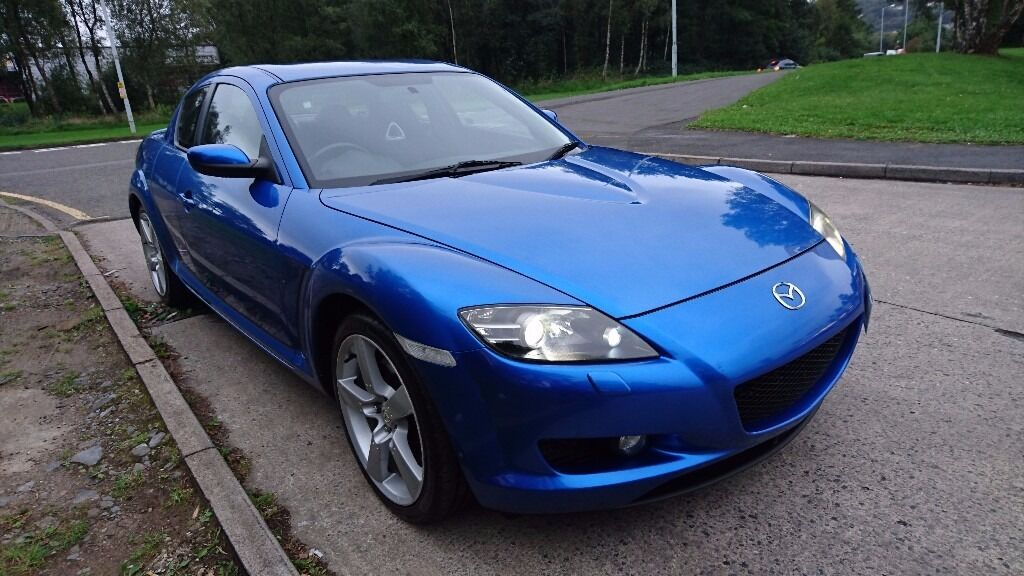 2005 mazda rx8 231 in winning blue in birchgrove. Black Bedroom Furniture Sets. Home Design Ideas
