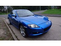 Mazda RX8 231 in Winning Blue - MOT'd, Nice Example