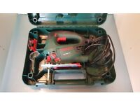 Bosch 530W Jigsaw 230V with Hard Case and 5 blades