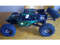 Rc vaterra twin hammers crawler new built kit not axial losi traxxas