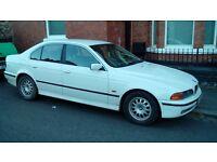 1998 BMW 520i SE spares or repairs manual not auto MOT until 17th Dec