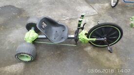 Huffy Green Machine 20 Inch Wheel Bike Big Tricycle Go Kart Ride On Trike Pedal