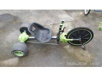 Huffy Green Machine 20 Inch Wheel Bike Big Tricycle Go Kart Ride On Trike Pedal