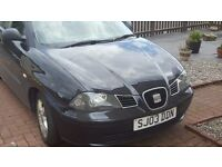Seat Ibiza 2003 *** less than 63000 miles *** £695ono or swap