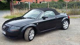 AUDI TT 1.8 ROADSTER CONVERTIBLE (Black) Excellent drive, lovely car... Cat D