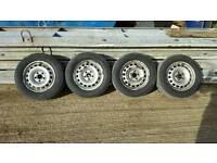 Vw steel wheels 15inch