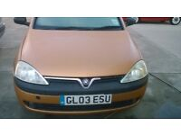 Vauxhall Corsa 1.2 SXi Automatic (semi) 3 door. 2003 '03' £495