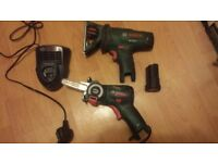 Pair of bosch saws