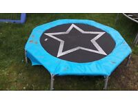 Selling my sons trampoline good condition. Not very high off the ground