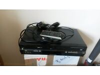 TOSHIBA DVD VIDEO RECORDER COMBI SD 38VB WITH REMOTE AND CABLES GOOD CONDITION