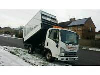 2009 ISUZU NKR TRUCK TIPPER 3.0 DIESEL, 1 OWNER FROM NEW, FULL SERVICE HISTORY, HPI CLEAR