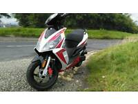 50cc Sport xr scooter moped 2015